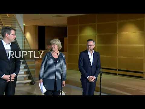 LIVE: Press briefing on German coalition talks