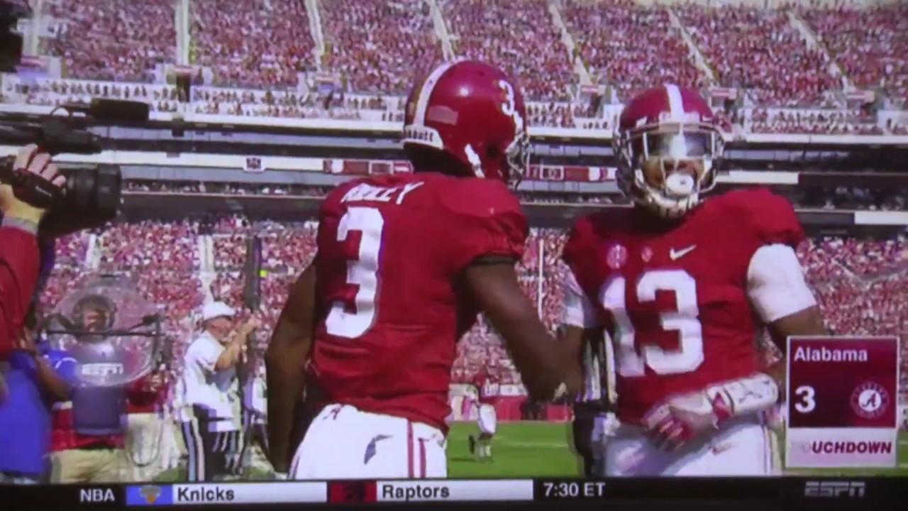 Alabama Vs Mississippi State 2016 Highlights Youtube
