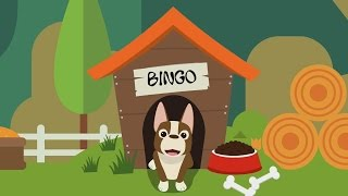 Bingo B-I-N-G-O Nursery Song