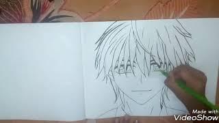 Drawing Usui Takumi from anime :kaichou wa maid sama