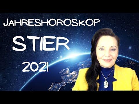 Jahreshoroskop 2021 Stier