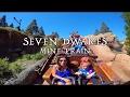 Seven Dwarfs Mine Train at Magic Kingdom - Runaway Train @ Disney World