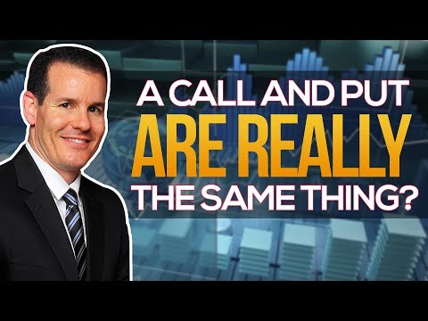 Option Trading: Calls and Puts Are Really The Same Thing