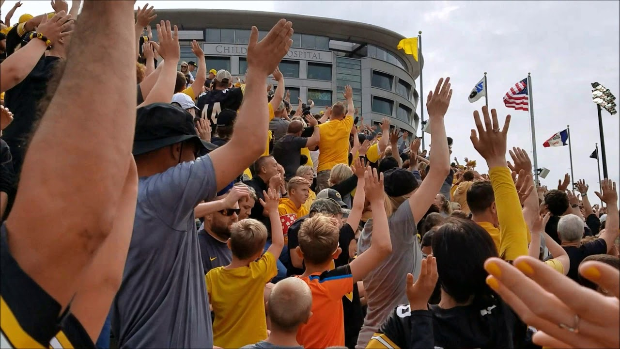 Hawkeye Fans Wave to UI Stead Family Children's Hospital ...