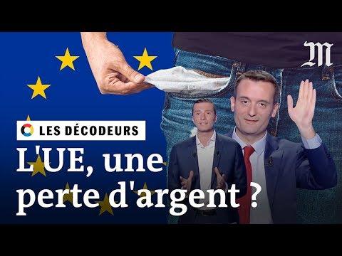 L'Union européenne fait-elle vraiment perdre de l'argent à la France ? - #LesDécodeurs
