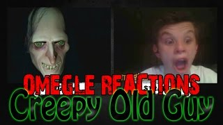 Creepy Old Guy Scare Prank on Omegle [Omegle Reactions]