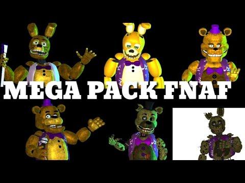Prisma3d fnaf download [MEGA PACK OF SPRINGS FNAF] ESPECIAL 700 SUBS