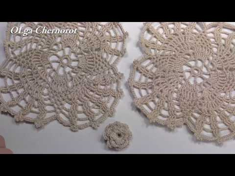 Салфетки и скатерти Вязание спицами и крючком Азбука