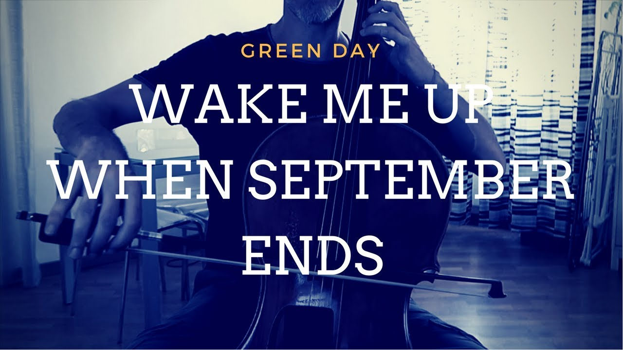 wake me up when september ends tab pdf