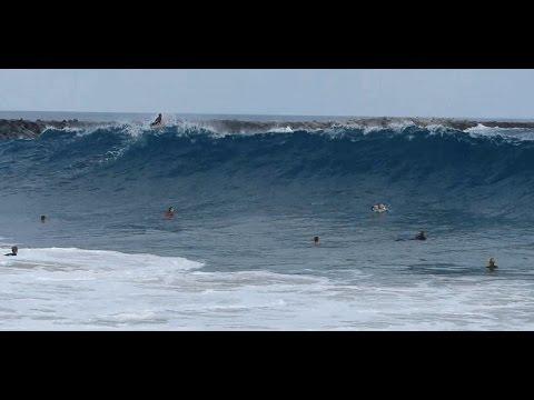 Newport Beach, CA, Wedge Surf, PM 7/8/2014 - (1080p@60) Part 2