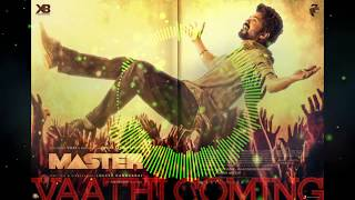 Vaathi Coming Song Master | Download Link | Thalapathy Vijay | Anirudh | 3D 8D 10D