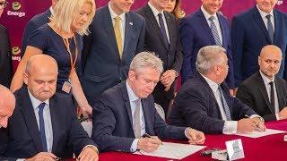 Podpisanie umowy ws. budowy elektrowni