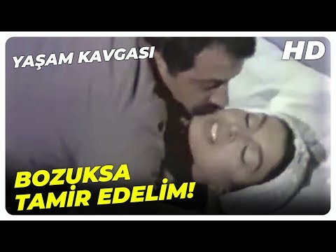Yaşam Kavgası - Erkeksizliğin Eksikliği Biter Mi?   Fatma Girik Eski Türk Filmi