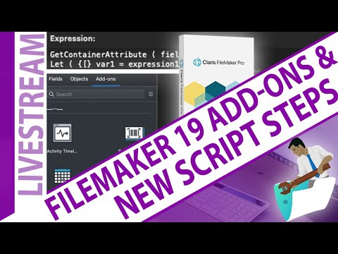 FileMaker 19 Add-On Modules Update, and Defining Let Functions, and Get(ContainerAttribute)