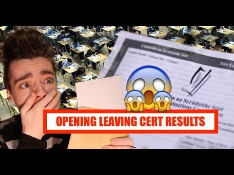 OPENING Leaving Certificate Results 2017