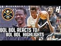 Bol Bol Reacts To Bol Bol Highlights!   DENVER NUGGETS 44TH OVERALL PICK