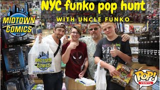 midtown comic all out funko pop hunt with uncle funko