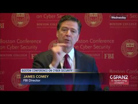 FBI Director Comey Remarks at Cybersecurity Conference