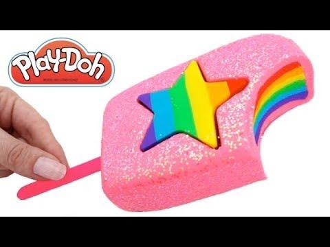 GLACE ROSE BRILLANT PLAY DOH ARC - EN-CIEL - Pâte à modeler