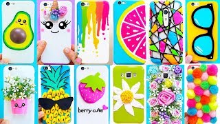 25 DIY PHONE CASES ANYONE CAN MAKE | Easy & Cute Phone Projects & iPhone Hacks