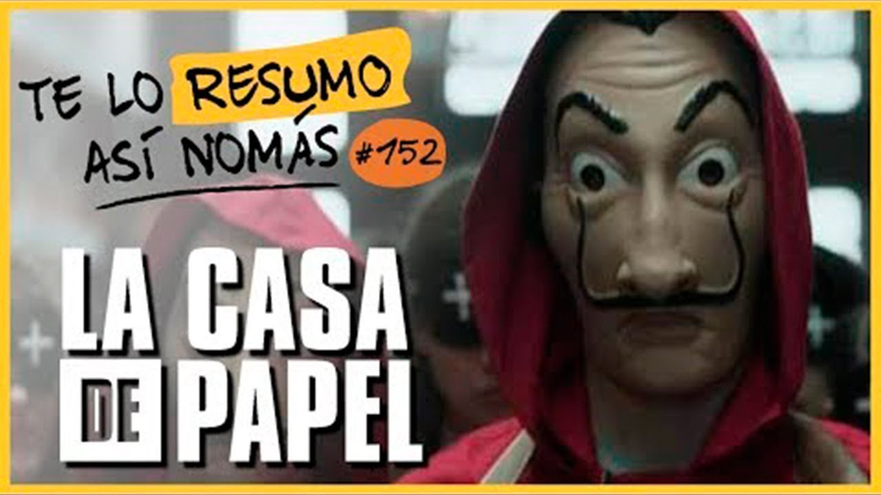 La Casa de Papel, Temporada 1 y 2   #TeLoResumoAsíNomás 152