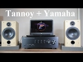 Tannoy Fusion 1 speakers + Yamaha A-S500 amplifier + sound test
