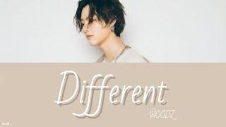 Gambar cover 日本語字幕/かなるび【 Different 】WOODZ