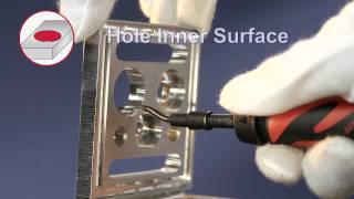 Слесарный инструмент Shaviv для снятия заусенцев(Слесарный инструмент Shaviv для снятия заусенцев от компании VARGUS., 2012-02-20T08:23:15.000Z)