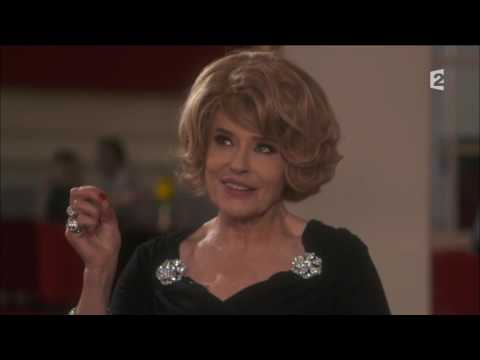 Fanny Ardant -  interview france 2 croque monsieur