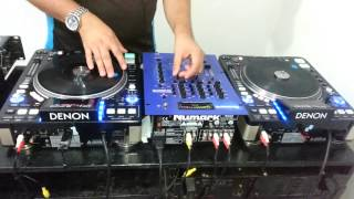 DJ MILTON SCRATCH DENON 3700