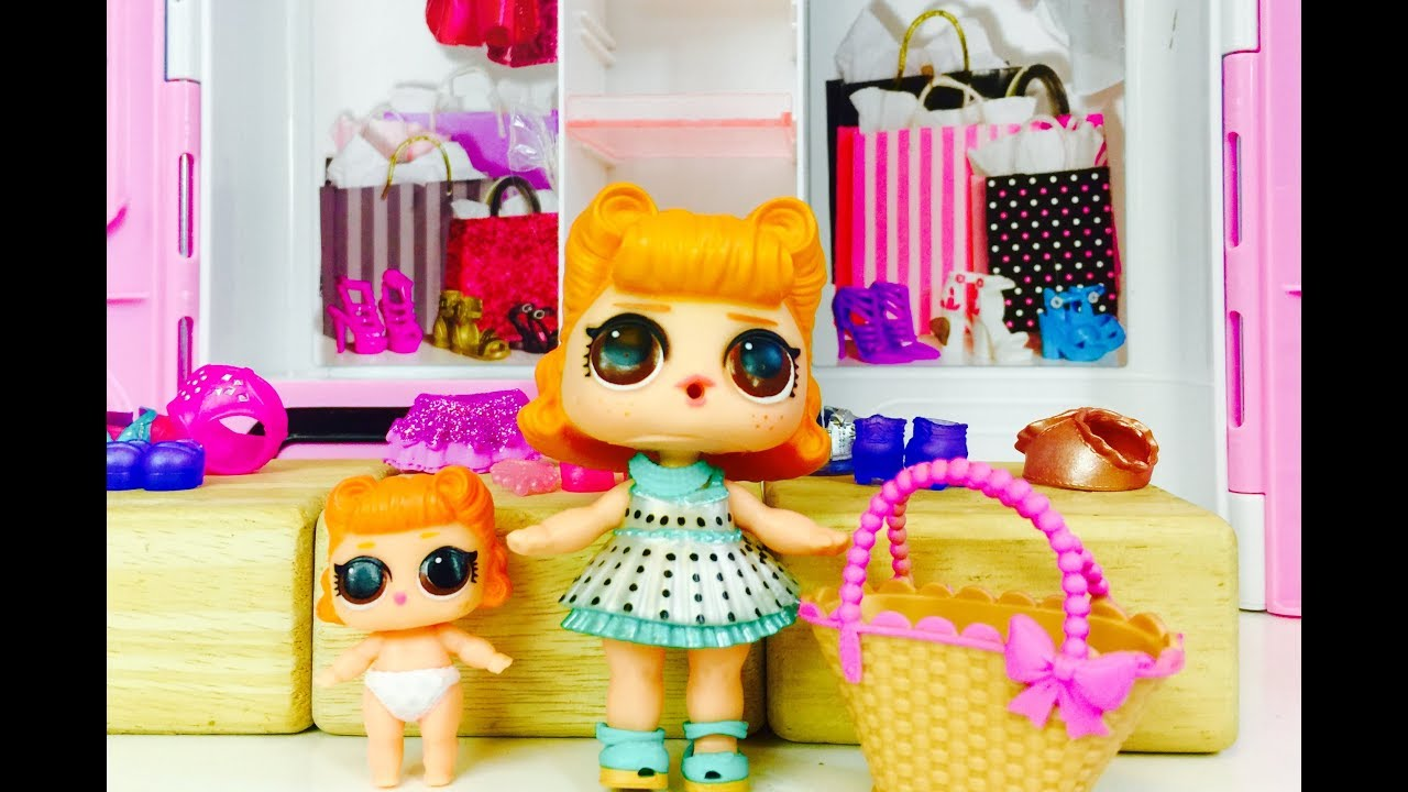 Bag FOR LOL Surprise LiL Sisters L.O.L JITTERBUG doll toy SERIES 2