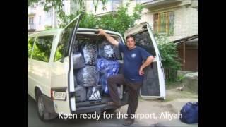 Interview Aliyah Fieldworker Koen Carlier (C4I) by Vision Radio Network (UCB Australia)