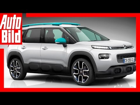 citroen c3 aircross 2017 citroens neues mini suv youtube. Black Bedroom Furniture Sets. Home Design Ideas
