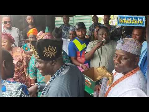 Download WONDERFUL PERFORMANCE OF SAHEED OSUPA FOR THE KINGS IN ILOGBO