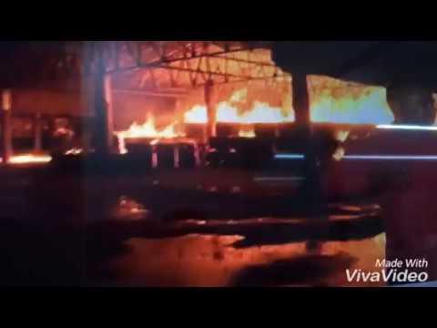 Rajkot juna market yard fire live