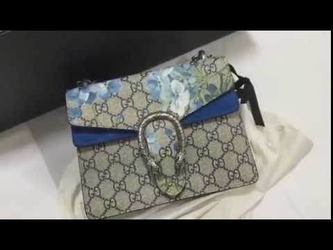d7a4a9b3a9e UNBOXING  Gucci Dionysus Blooms Mini - YouTube