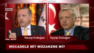 BİR BAŞBAKAN İKİ ERDOĞAN - Bir başbakan iki erdoğan