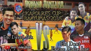 Tarkam Voli KAPOLRES CUP BANYUMAS 2016 : Doni Haryono dkk vs David Pratama dkk