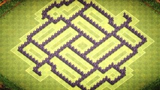 Clash of Clans - Best TH8 Trophy/Clan War Base (Cycle) - 2014