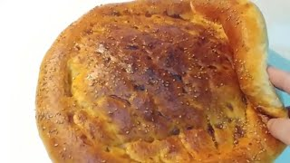 khobz ramadan????pain ramadan au four خبز رمضان خفيف مثل القطن بالملعقة فقط بدون عجن ولا بيض وزبدة