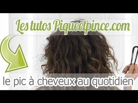 Coiffure Facile Sur Cheveux Longs Le Chignon Noeuds Youtube