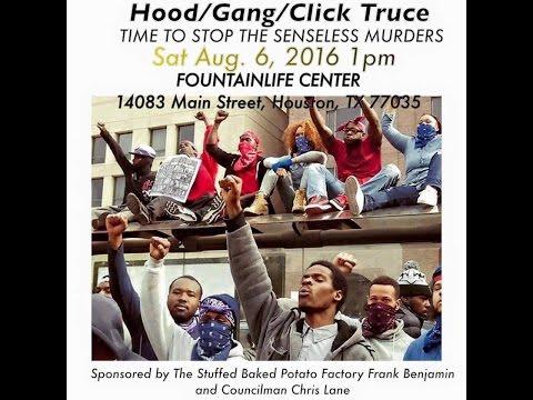 Hood/Click/Gang Truce Event @ Fountainlife Center