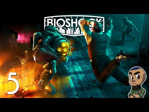 NO ESCAPE | BioShock Remastered (The Collection) | Part 5 | Gameplay Walkthrough PS4 Xbox One