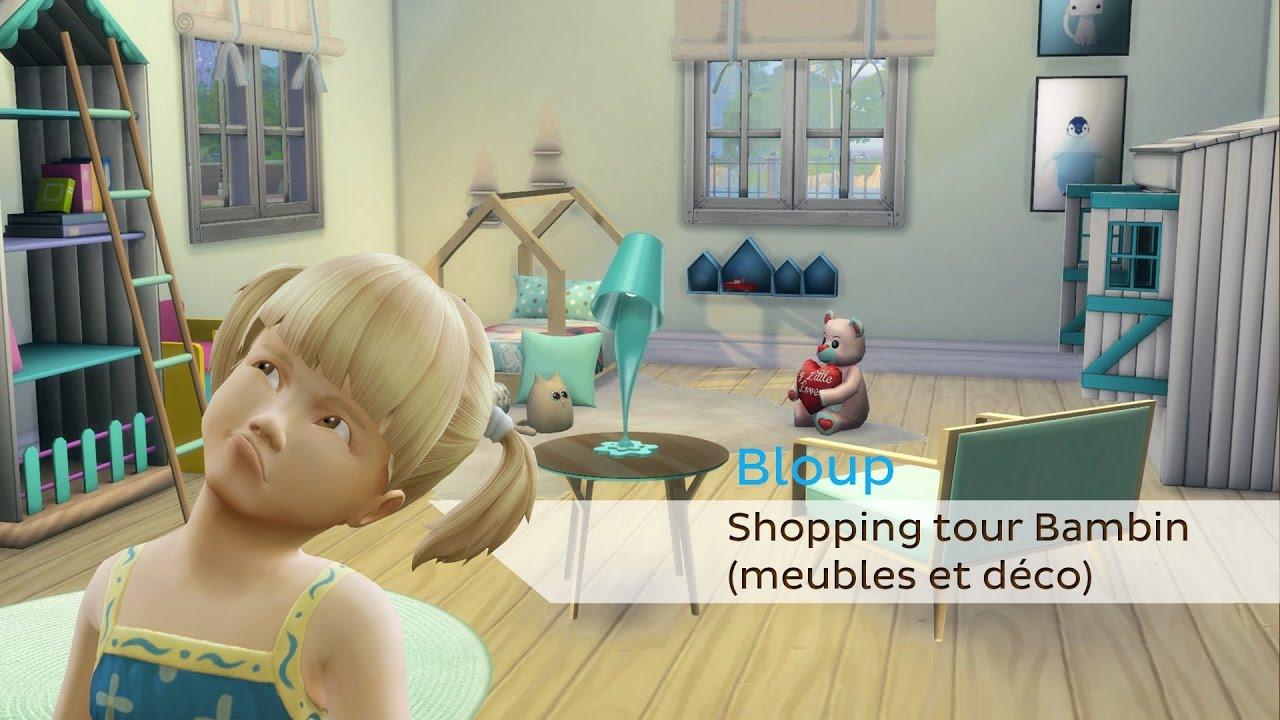 Shopping Tour Meubles Et Deco Special Bambin Sims 4