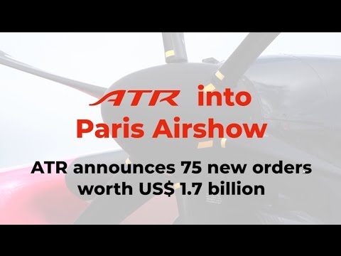 ATR Bourget 2019 D3 - Press Conference