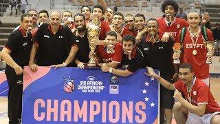 Egypt vs Mali - Final - Full Game - FIBA U16  Africa Championship 2019