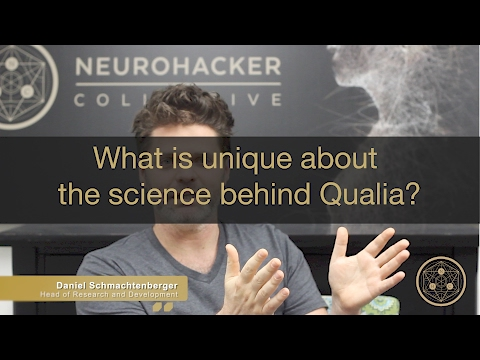 What is unique about the science behind Qualia?