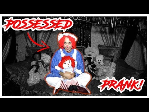 POSSESSED ANNABELLE DOLL PRANK (HAUNTED HOUSE) *GONE WRONG*