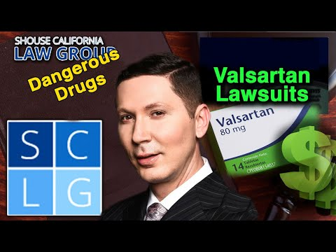 Valsartan Lawsuits - Cancer from Contamination with NDMA