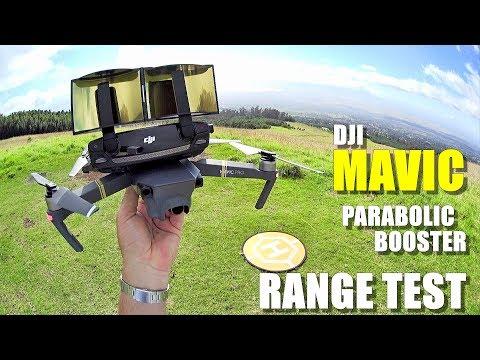 DJI MAVIC PRO Review - Part 4 - [6.4 Mile In-Depth Parabolic Range Booster Test 😮]